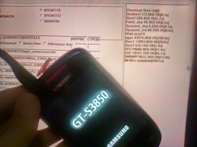 Panduan cara instal ulang smartphone android Samsung Corby 2 dan tutorial flashing android Samsung Corby 2 dengan pc dan tanpa pc