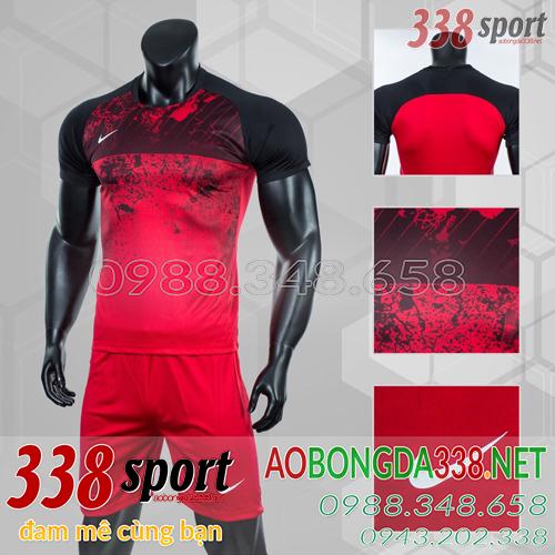Áo Bóng Đá Không Logo Đẹp Nike Roter Đỏ