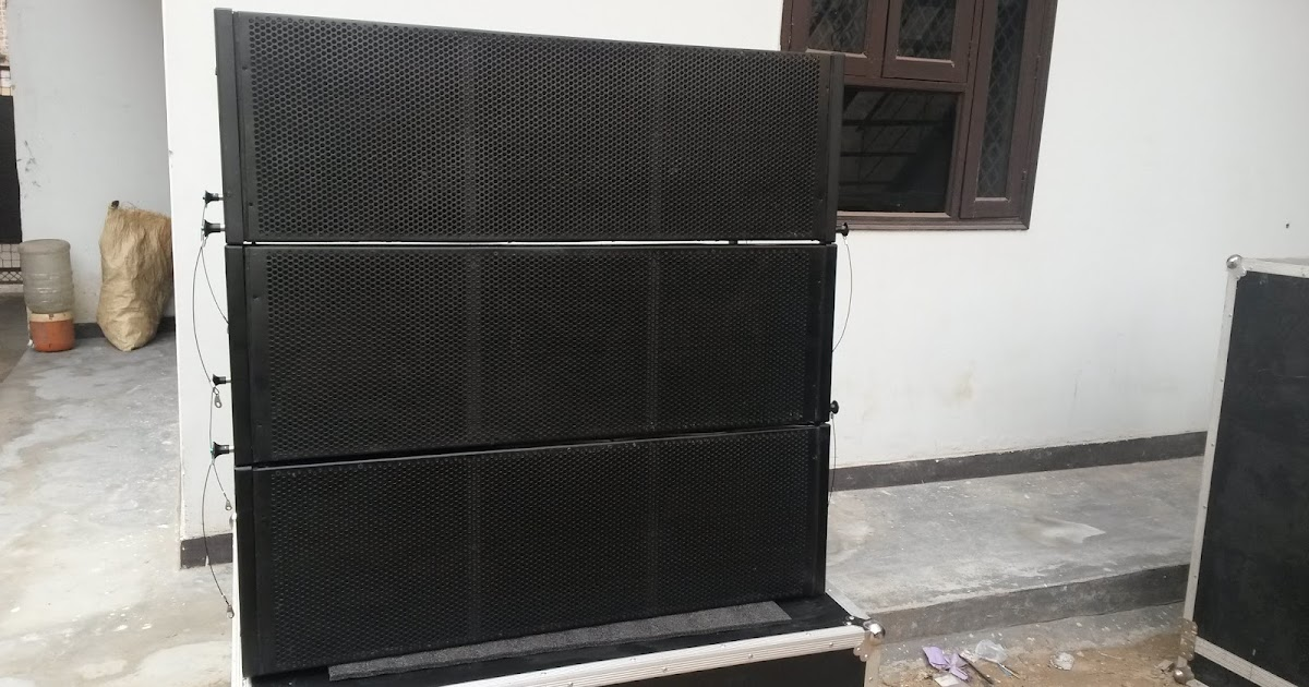 GAUDIO IN: dual 12 line array empty cabinet manufacturer