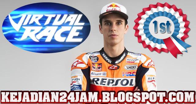 Rider Alex Marquez Juara Seri Pertama MotoGP Virtual Race