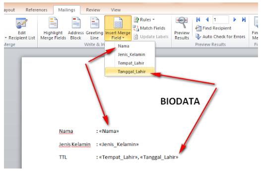 Panduan Lengkap Cara Membuat Mail Merge di MS Word