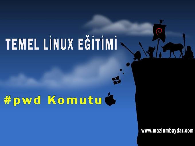 Temel Kali Linux Komutları (pwd)