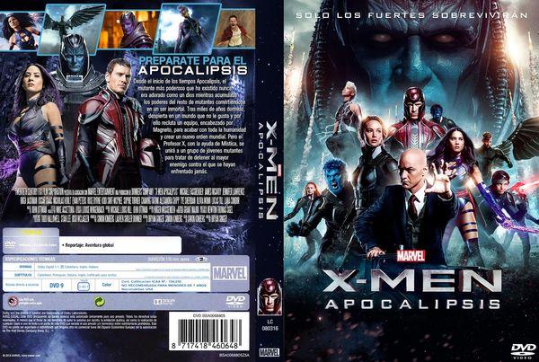 X-Men: Apocalypse – Latino, Inglés, Francés – DVD9