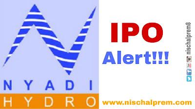 nyadi+hyrdopower+limited+ipo+nepal+share+market