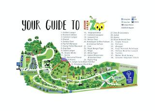 Guwahati Zoo Map