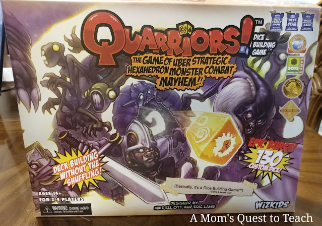 Quarriors game box