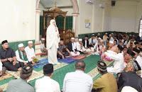 Jumat Khusyu' di Masjid Jami Nurul Huda Parangina, IDP Sumbang Pribadi Rp50 Juta
