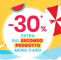 promozione Pittarello sconto extra 30 percento sul secondo prodotto