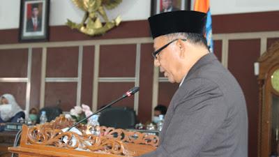DPRD Kabupaten Labuhanbatu Menyetujui 20 Program Rancangan Peraturan Daerah.