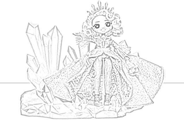 Coloring Pages: L.O.L. Surprise! O.M.G. Dolls Coloring ...