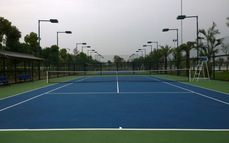 Sân tennis một tiện ích nội khu nổi bật