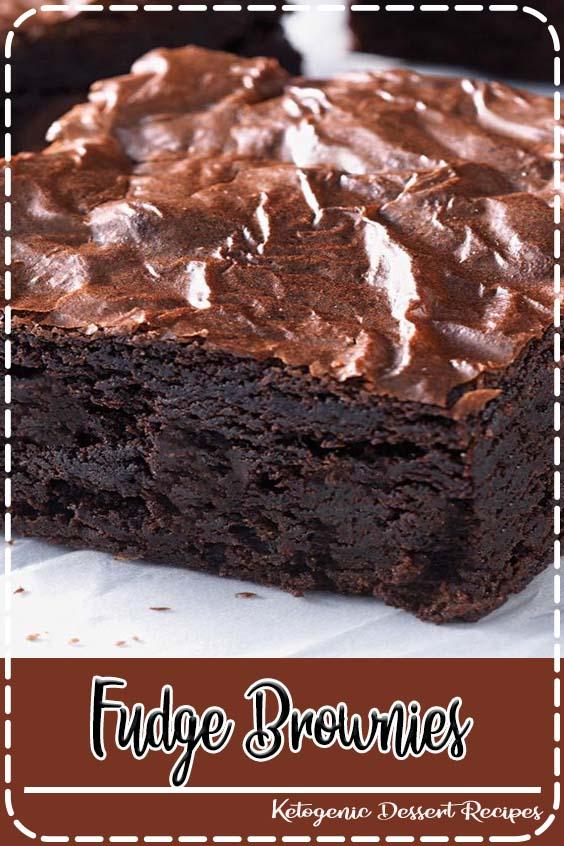 deep chocolate brown inside with a lighter Fudge Brownies