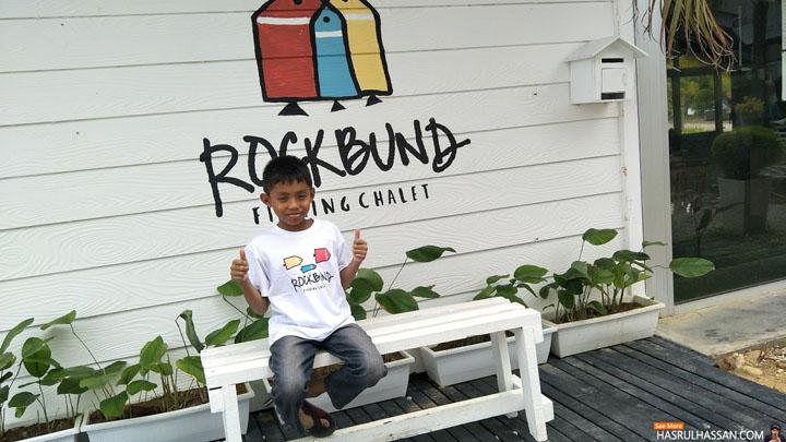 Bercuti Memancing di Rockbund Fishing Chalet, Marina Island