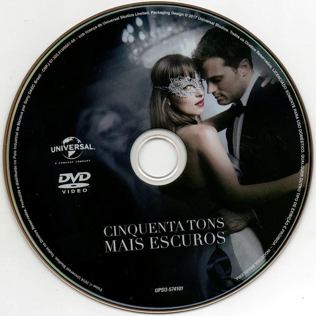 Label DVD Cinquenta Tons Mais Escuros (Oficial)