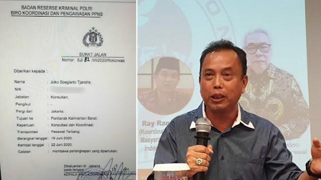 Bareskrim Keluarkan Surat Jalan Djoko Tjandra, IPW: Seperti Menampar Wajah Jokowi