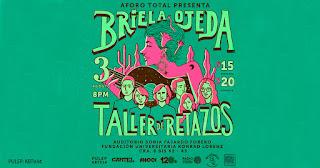 Concierto de Briela Ojeda y Taller de Retazos en Bogotá