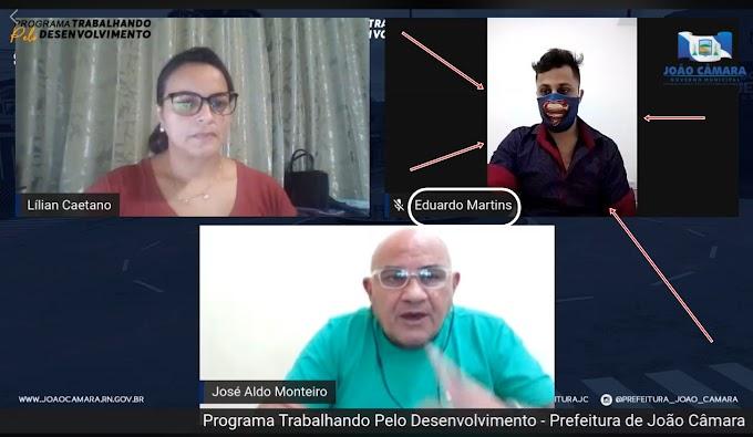 Coordenador de cultura de João Câmara terá que optar, pela Efetivação ou cargo Comissionado afirmou secretário