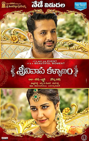 Poster Of Free Download Srinivasa Kalyanam 2018 300MB Full Movie Hindi Dubbed 720P Bluray HD HEVC Small Size Pc Movie Only At worldfree4u.com