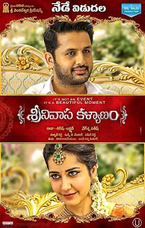 Poster Of Srinivasa Kalyanam In Dual Audio Hindi Telugu 300MB Compressed Small Size Pc Movie Free Download Only At worldfree4u.com