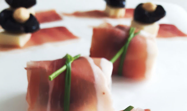 Fagottini di Speck Alto Adige finger food