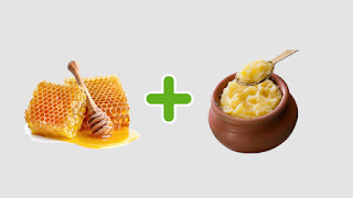 Honey and Ghee bad food combinations