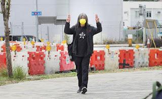 "Libertad a los presos políticos y de ""Long Hair"" en Hong Kong"