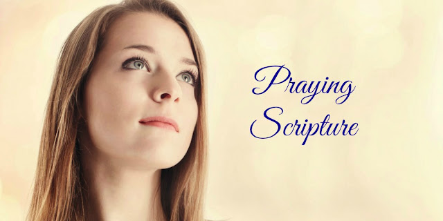 Praying Scripture can be powerful. This devotion offers 6 good prayers from the Epistles. #BibleLoveNotes #Bible