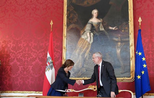 مستشارة النمسا تحسم في طموحها لمنصب الرئاسة