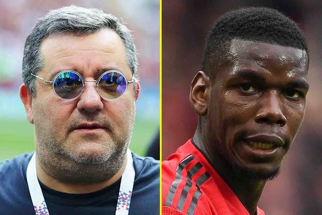 EPL: Pogba going through difficult time at Man United – Mino Raiola