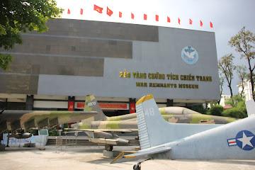 Museo della guerra del Vietnam a Saigon