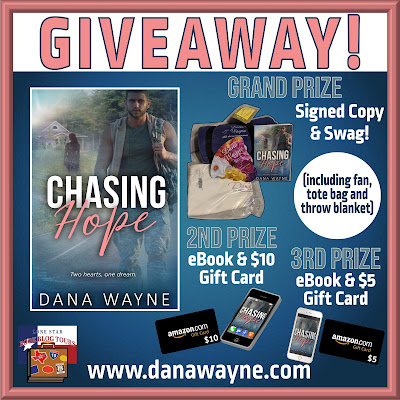 Chasing Hope tour giveaway graphic