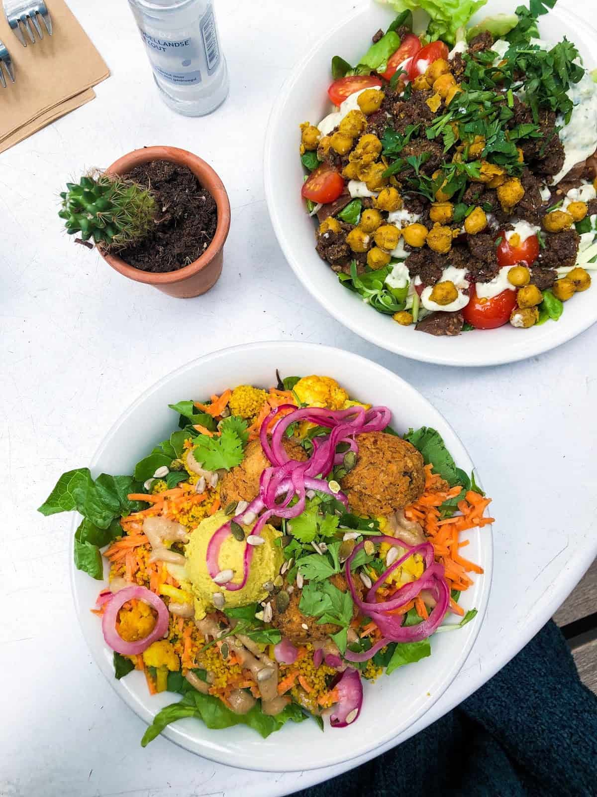 SLA Amsterdam vegan salad bar