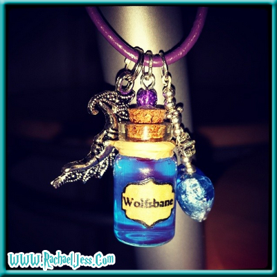 Wolfsbane necklace