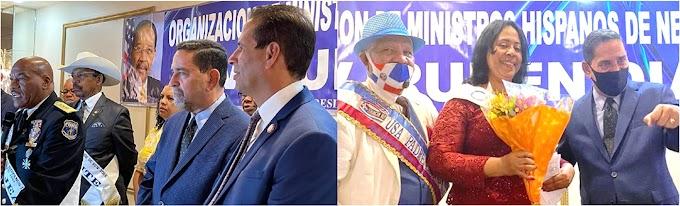 Jáquez reafirma apoyo a líderes religiosos hispanos de Nueva York durante encuentro en El Bronx