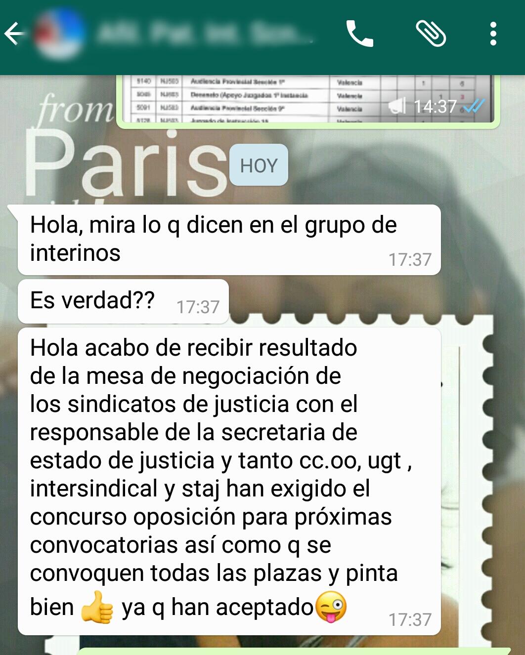 grupo whatsapp valencia