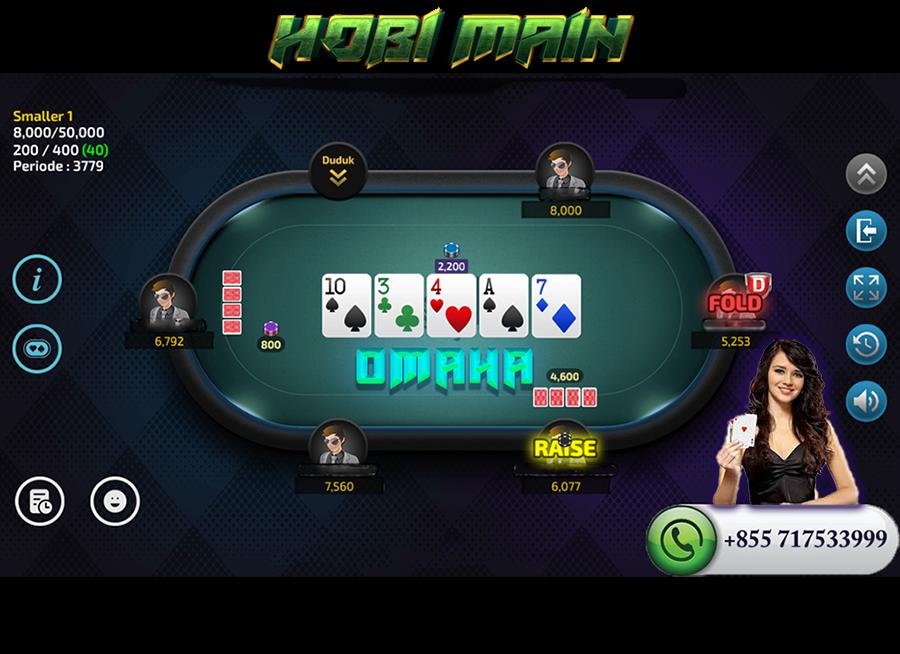 aturan dan tips omaha poker