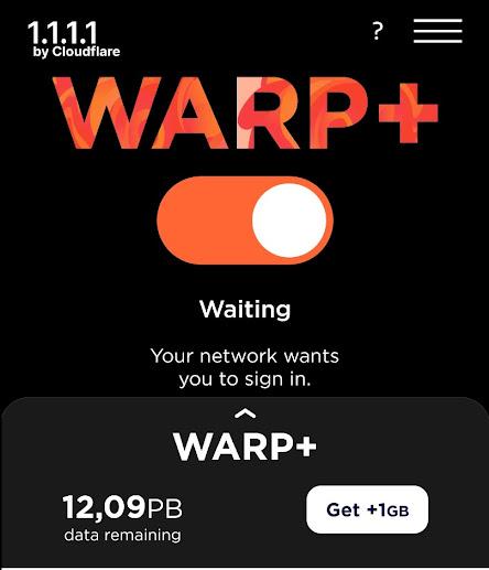 Share warp+ 14PB về tài khoản của cá nhân mới nhất 2021