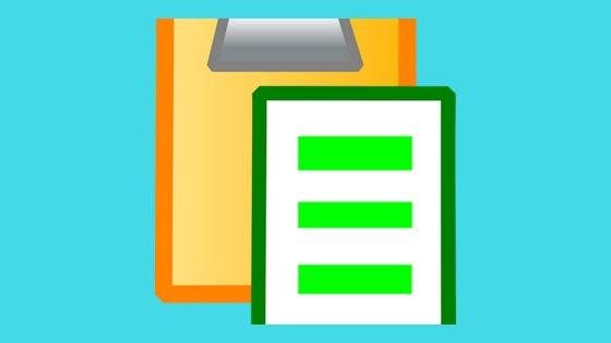 Começo de uma checklist de post