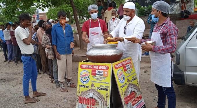 जरुरतमंदो का पेट भर रही है वाहिद बिरयानी वैन