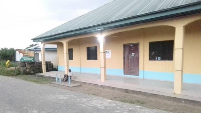 Kalaba Community Health Centre powered by the solar mini-grid|