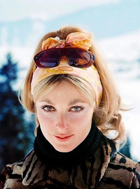 1966. Sharon Tate photographed by Pierluigi Praturlon