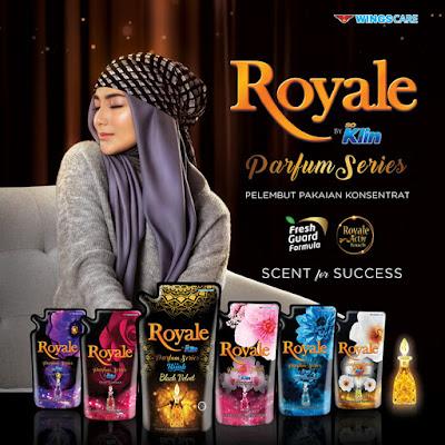 Royale So Klin Parfum Pelembut Pakaian Konsentrat