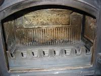 薪ストーブの燃焼室