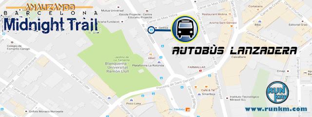 Servicio de autobús lanzadera