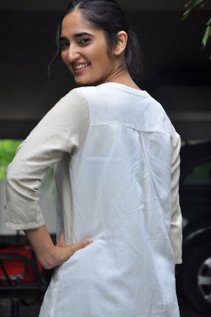 Radhika Cute Young New Actress in White Long Transparent Kurta ~  Exclusive Celebrities Galleries 008.JPG