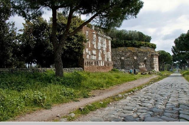 monumentos appia antiga - A Via Appia Antiga