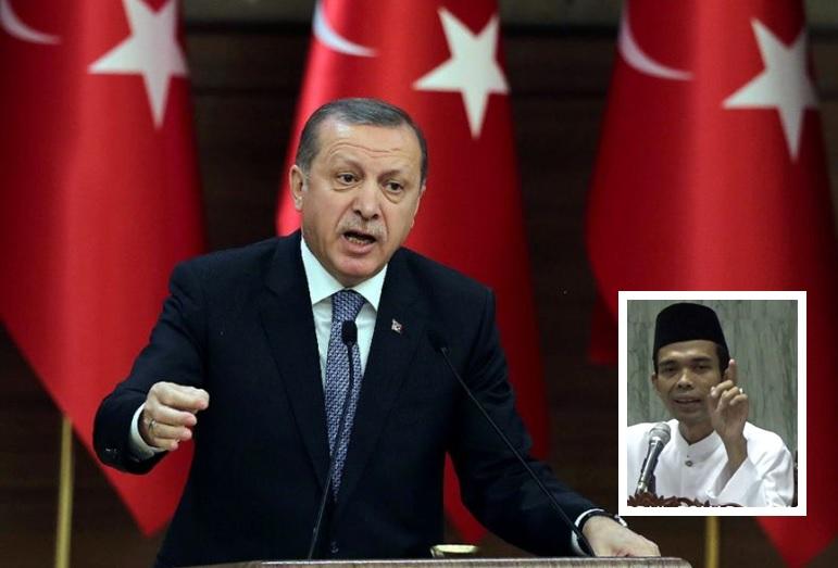 Erdogan dan Ustadz Abdul Somad