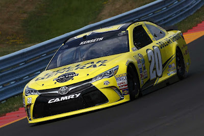 Matt Kenseth will start fourth in the No. 20 Joe Gibbs Racing Toyota.  #nascar