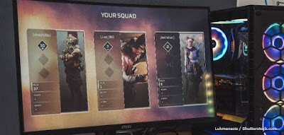 Figure: How many players are on each team in Apex Legends?