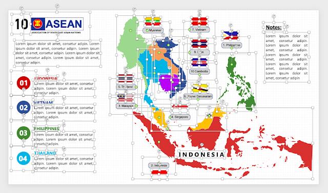 Peta ASEAN PPTX